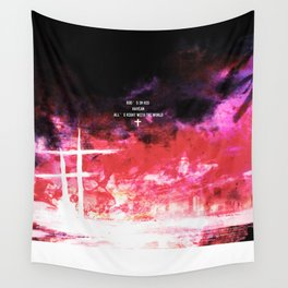 God's in his heaven Wall Tapestry