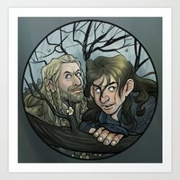 fili Art Prints featuring Fili, Kili. by Ammo
