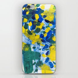 Pool Leaves iPhone Skin