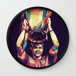 Steven Gerrard Istanbul 2005 Wall Clock