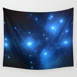 "The Pleiades (""The Seven Sisters"") (NASA/ESA/Palomar Observatory) Wall Tapestry"