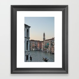 grand canal Framed Art Print