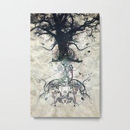 Triad Metal Print