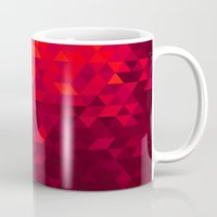 blood Mugs featuring Blood by T.Fischer