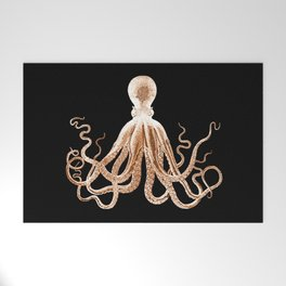 Octopus sea nautical beach coastal Welcome Mat