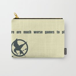 Mockingjay Quote Carry-All Pouch