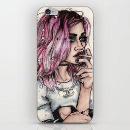 Frances Bean Cobain iPhone Skin