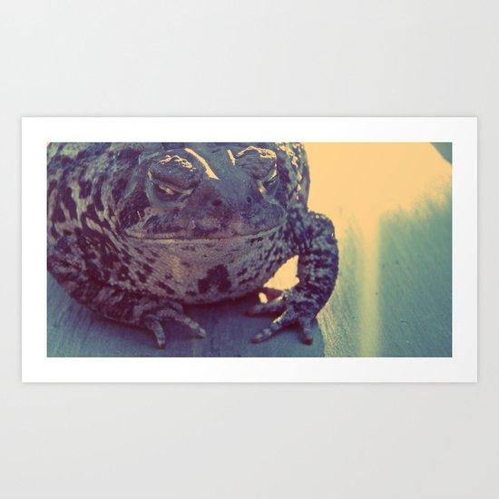 Leeper Art Print
