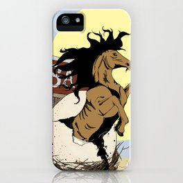A Big Ol' Horse Egg iPhone Case