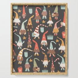 Christmas Gnomes Serving Tray