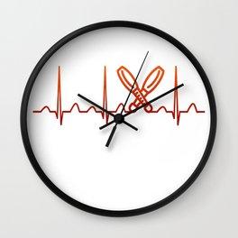 Juggling Heartbeat Wall Clock