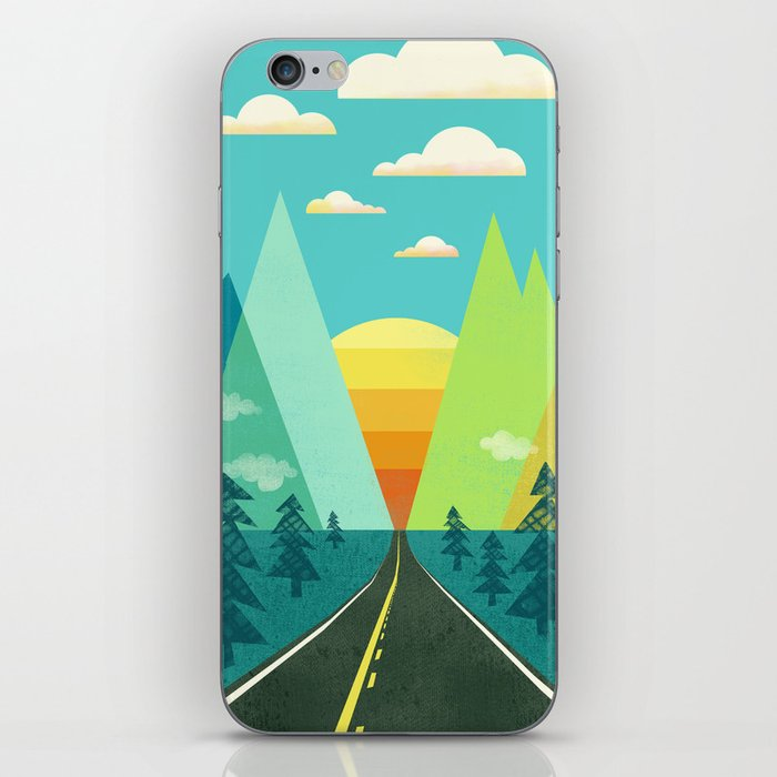 the Long Road iPhone Skin
