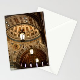 Skyward view of a Cathedral Stationery Cards
