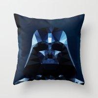 darth Throw Pillows featuring Darth by Ed Burczyk