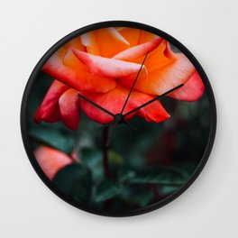 Blood Orange.(1) Wall Clock