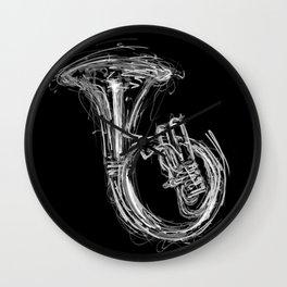 Sousaphone I Wall Clock