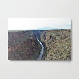 Rio Grande Gorge Metal Print