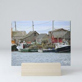 Martha's Vineyard Seaside Village Mini Art Print