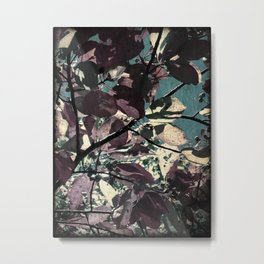Cool Fall Leaves Metal Print