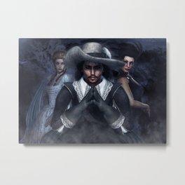 Musketeer Metal Print