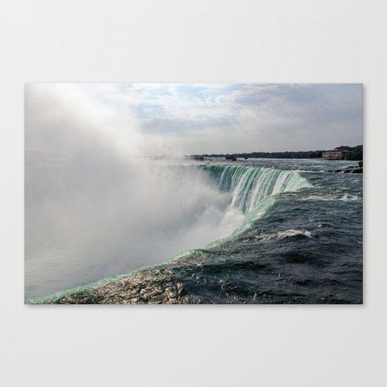 Water waterfall 5 Canvas Print