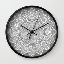 Dedication to Dalton (gray) Wall Clock