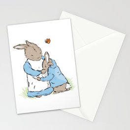 Mama Rabbit Stationery Cards