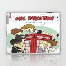 Take Me Home Cartoon One Direction Laptop & iPad Skin