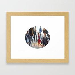 Street Command Framed Art Print