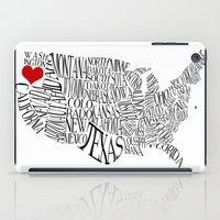 oregon iPad Cases featuring Oregon by Taylor Steiner