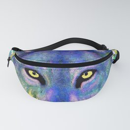 WOLF IN THE GARDEN Fanny Pack