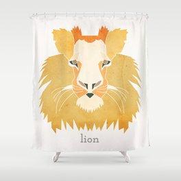 Like a Lion Shower Curtain