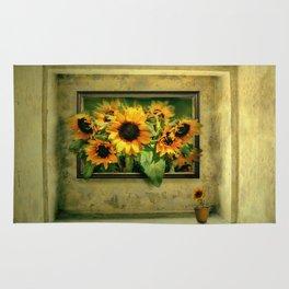 Der Sonnenblumenraum Rug