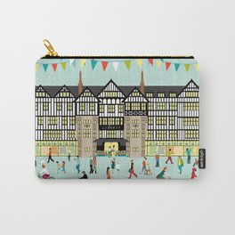 Art Print of Liberty of London Store - Daytime Carry-All Pouch