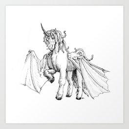 Dragonicorn Art Print