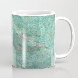 Mossy Woods Green Marble Coffee Mug