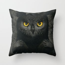 All the night Throw Pillow