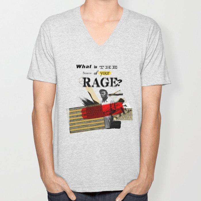 Rage Unisex V-Neck