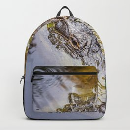 Gator Blowing Bubbles Backpack