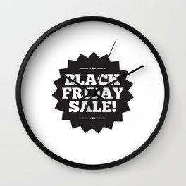 Its Black Friday Sale Wall Clock