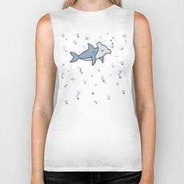 Little Hammerhead shark Biker Tank
