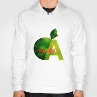 apple Hoodies featuring apple by John Beswick