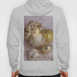 Golden christmas ball Hoody