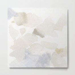 Bloom No. 6 Abstract watercolor floral Metal Print