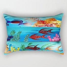 Beautiful Sea Life Rectangular Pillow