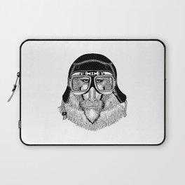Monkey Pilot Laptop Sleeve