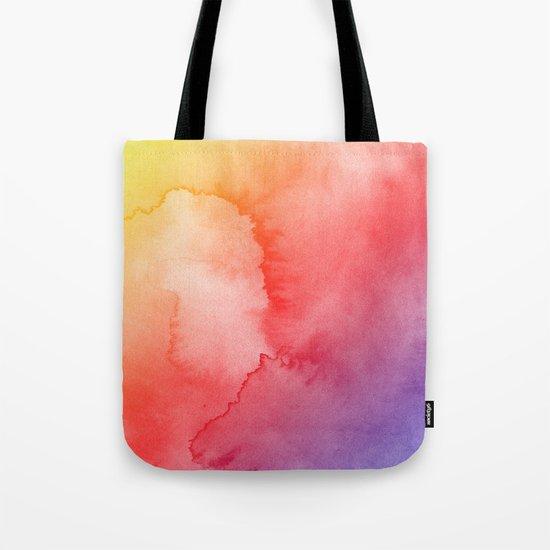 Watercolor Gradient Tote Bag