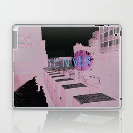 Denver Poster Laptop & iPad Skin