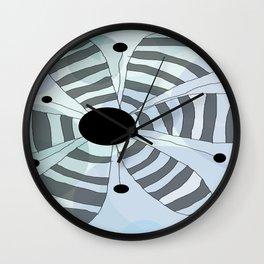 FLOWERY HOLLY/ ORIGINAL DANISH DESIGN bykazandholly Wall Clock
