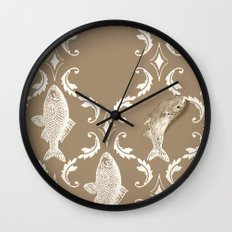 In which a fish frees itself Wall Clock